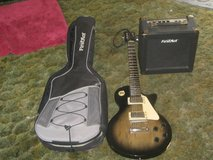 First Act guitar and amp in Fort Leonard Wood, Missouri