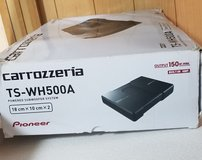 Pioneer Carrozzeria TS-WH500A 150 WATTS Built in Amplifier Subwoofer. in Okinawa, Japan