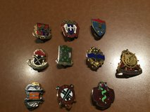 Military Insignia Pins in Ramstein, Germany