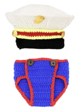Brand New knitted Baby blues Photo prop set in Camp Lejeune, North Carolina