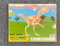 Wooden Dinosaur Puzzle (small size) NEW in Okinawa, Japan