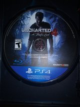PS4 Game- Uncharted 4- A Theif's End in Fort Polk, Louisiana