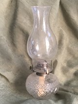 Antique Cut Glass Oil Lamp in Chicago, Illinois