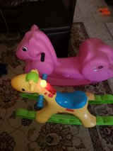 Fisher Price Rocking Tunes Giraffe and horse in Alamogordo, New Mexico