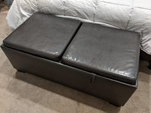 Leather Ottoman Table in Travis AFB, California