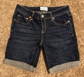 Aeropostale Cuffed Denim Bermuda Shorts, Sz 5/6 in Clarksville, Tennessee