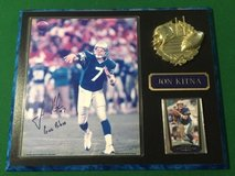 "*** JON KITNA 12"" x 15"" Autographed Plaque in Excellent Condition *** in Tacoma, Washington"