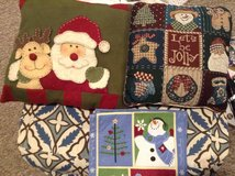 Christmas Pillows & Runner in Bolingbrook, Illinois