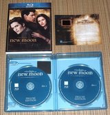 Twilight New Moon Blu-ray EXCLUSIVE Collectable Film Cell Deluxe 2-Disc Edition in Morris, Illinois
