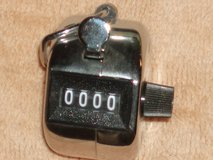 Hand held Clicker counter in Plainfield, Illinois