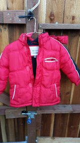 Warm and cozy fleece lined child's coat 5/6 in Travis AFB, California