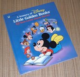 Vintage 1991 A Treasury of Disney Little Golden Books 22 Best Loved Stories Over Sized Hard Cover in Chicago, Illinois