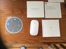 Apple Magic Bluetooth Wireless Laser Mouse, 2 iMac DVDs-Recovery/Apps. in Beaufort, South Carolina