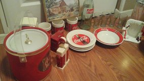 Complete set Coke Cola Diner Table Setting & Related Coke Items in Chicago, Illinois