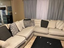 Used Cindy Crawford Sectional in Conroe, Texas