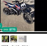 110 Tao dirt bike in Travis AFB, California