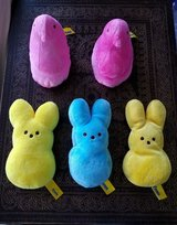 Like New! Plush Peeps Collection in Fort Campbell, Kentucky