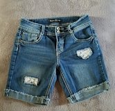 Girls Vanilla Star Jean Shorts, Size 12 in Clarksville, Tennessee