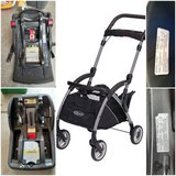 graco Clic Connect stroller and bases in Travis AFB, California