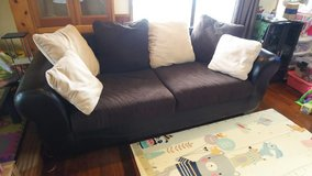 Couch and matching Ottoman in Okinawa, Japan