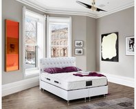 United Furniture - White Full Size Storage Bed Bahama complete with Mattress and Delivery in Wiesbaden, GE