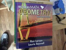 2020 SC TE Geometry Textbook, Brand New in Beaufort, South Carolina