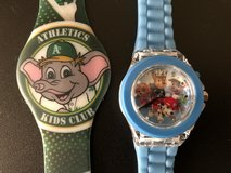 Two Character Watches in Travis AFB, California