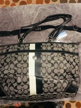 Authentic Vintage Coach Diaper Bag in St. Charles, Illinois