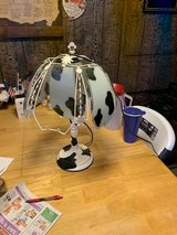 Cow lamp in Fort Knox, Kentucky