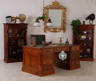 Exclusive Desks/Chairs in Solid Mahogany / Timeless in Wiesbaden, GE