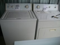 ROPER WASHER & ROPER GAS DRYER MATCHING SET in Sandwich, Illinois