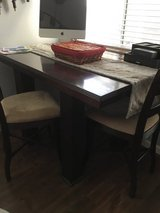 kitchen table with chairs and leaf pub style in Travis AFB, California