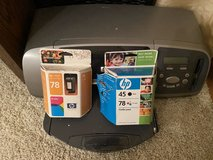 HP Printer w 2 ink cartridges in Westmont, Illinois