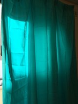 Beautiful blue Japanese curtains 71x 58 in Okinawa, Japan