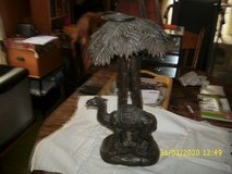 Camel with Palm Tree Candle Holder in St. Charles, Illinois