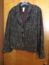 PRE-OWNED J.JILL BOUCLE JACKET - LINED - SIZE 16 in Chicago, Illinois