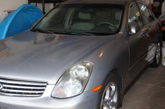 G35 Infinity 2003 First Year of The Model in Naperville, Illinois