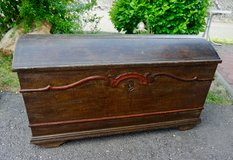 antique chest with rounded top in Spangdahlem, Germany