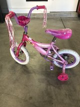 12 inch princess bicycle in Travis AFB, California