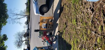 Free on the curb in Camp Pendleton, California