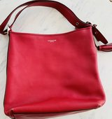 Coach Deep Red Satchel Purse in St. Charles, Illinois