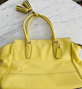 Coach Canary Yellow Purse in St. Charles, Illinois