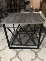 Side Table - Nearly New ! 2ft by 2ft in Chicago, Illinois