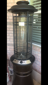 The Inferno Central Flame Gas Patio Heater in Houston, Texas