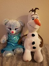 Build•A•Bear Elsa and Olaf in Camp Pendleton, California
