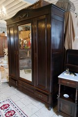 antique armoire in Spangdahlem, Germany