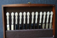 George & Martha Westmoreland Sterling Silver Flatware 12 Sets + Extras in Beaufort, South Carolina