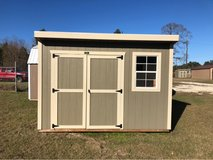 8x12 Cottage Shed in Leesville, Louisiana