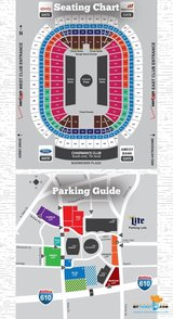 Chance the Rapper- 4 tickets & Blue lot Parking (Sec 129 Row F) in Kingwood, Texas