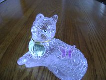 Bradford Mint Smitten the Crystal Figurine With Butterfly on tail. in Toms River, New Jersey